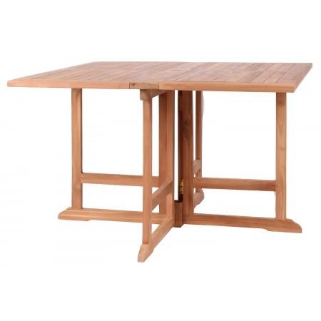 Gartensessel Andover und Tisch Kent Teak-KOMPLETTSET