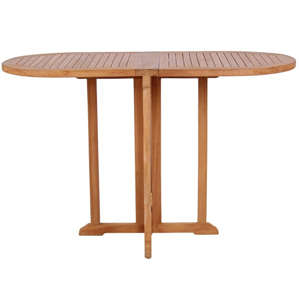 Relaxsessel Preston und Tisch Balcony Teak-KOMPLETTSET