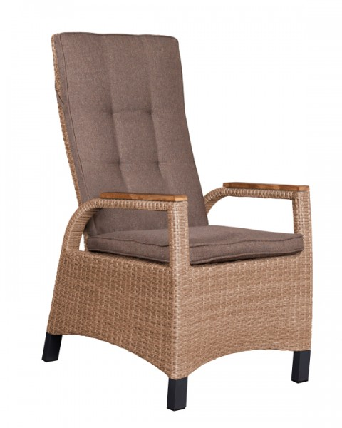 Dining Relaxsessel Montana, inkl. Kissen spotted brown