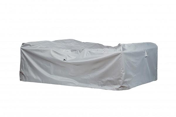 Schutzhaube Premium Polyester für Eck-Loungegruppen