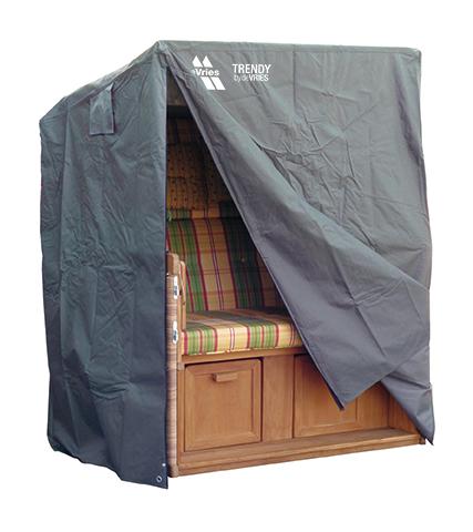 strandkorb schutzhaube classic grau devries. Black Bedroom Furniture Sets. Home Design Ideas