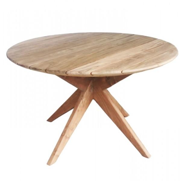 Tisch Blackpool rund ø 130cm Teak deVries