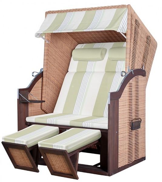 strandkorb trendy pure standard pe nature dessin 432. Black Bedroom Furniture Sets. Home Design Ideas
