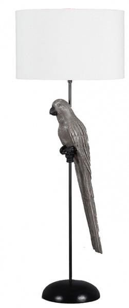 Stehleuchte Papagei grey