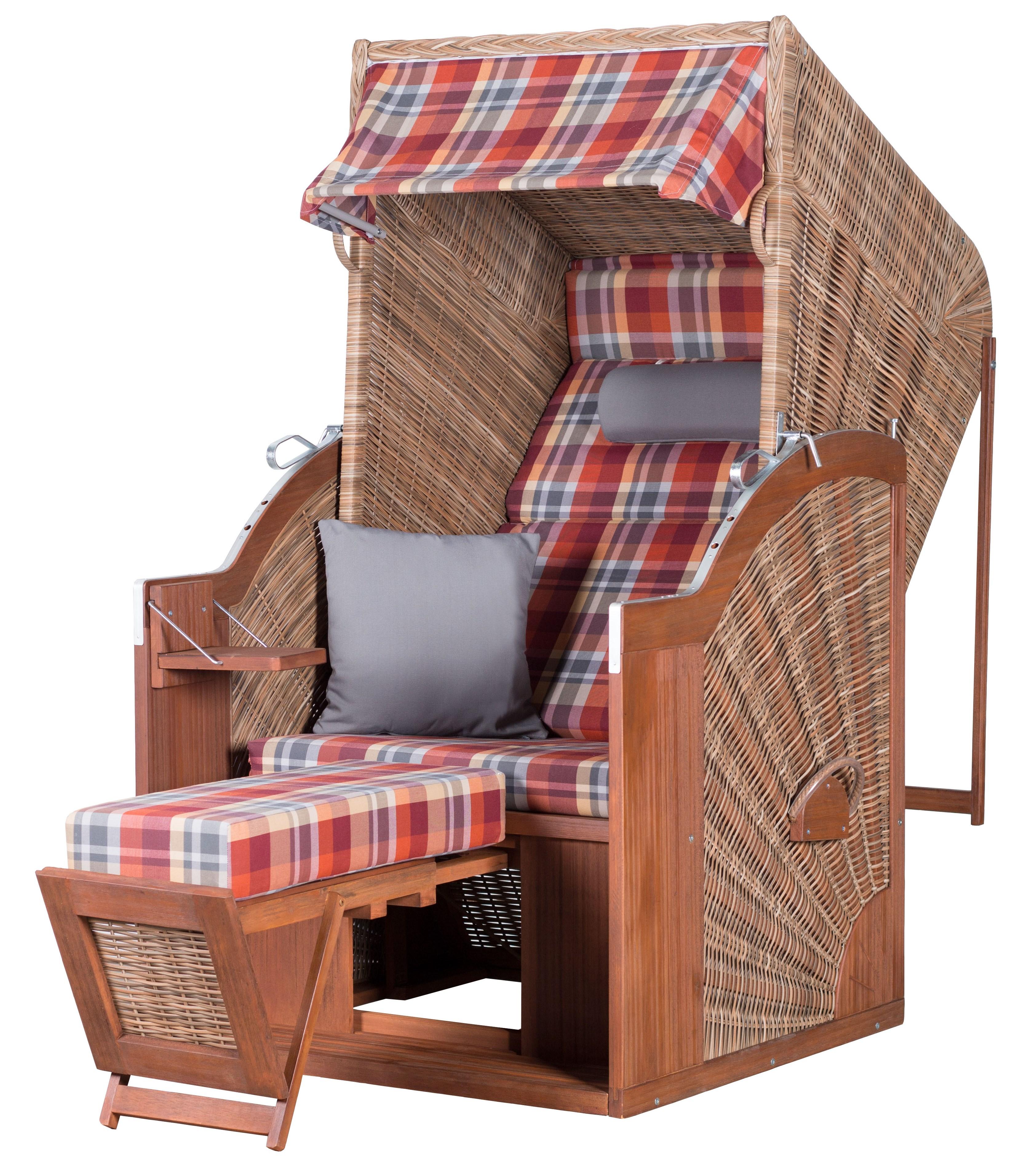 Strandkorb deVries PURE® Comfort Single XL PE griseum Dessin 429