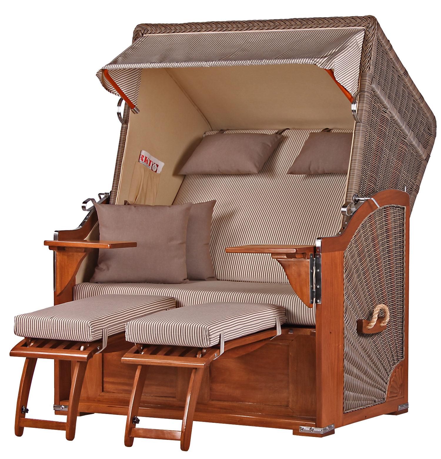 mahagoni strandkorb keitum mahagoni vollholz 2 sitzer wechselpolster. Black Bedroom Furniture Sets. Home Design Ideas