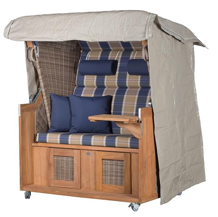 strandkorb schutzhaube luxus devries. Black Bedroom Furniture Sets. Home Design Ideas