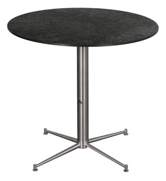 Tisch Willington Edelstahl HPL ø 80cm deVries