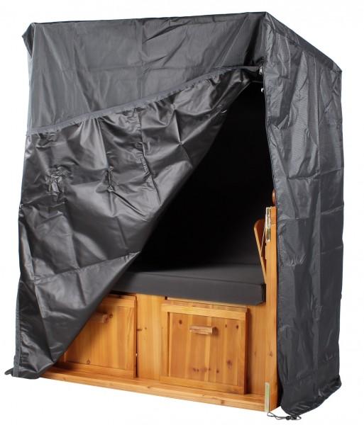 Strandkorb Schutzhaube Aero Protect dunkelgrau - Größe M