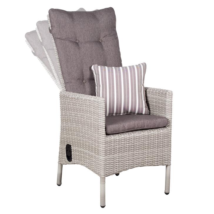 devries gartenst hle geflechtstuhl aus pe rattan. Black Bedroom Furniture Sets. Home Design Ideas