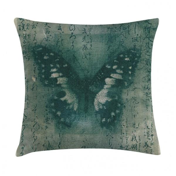 Knuffelkissen Schmetterling Vintage