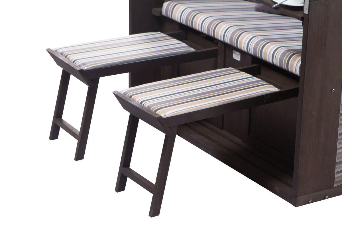strandkorb twin compact pe onyx dessin 351 4031992189691 ebay. Black Bedroom Furniture Sets. Home Design Ideas