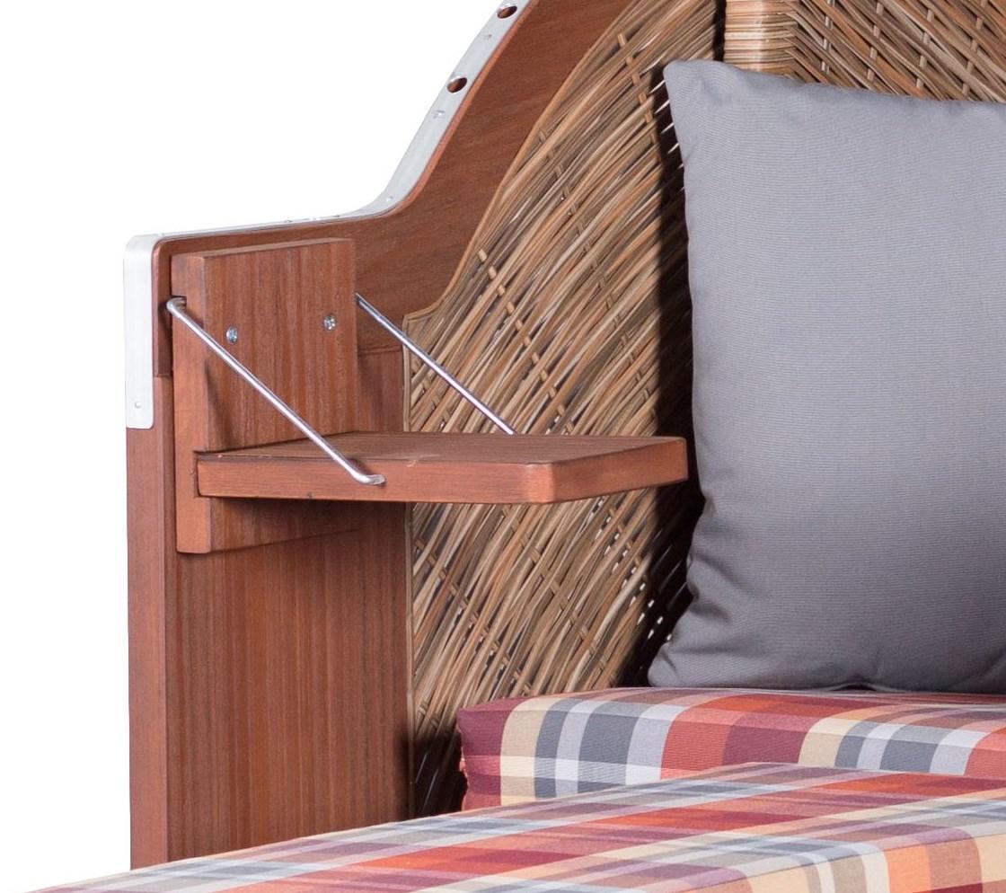 strandkorb devries pure comfort single xl pe griseum dessin 429 ebay. Black Bedroom Furniture Sets. Home Design Ideas